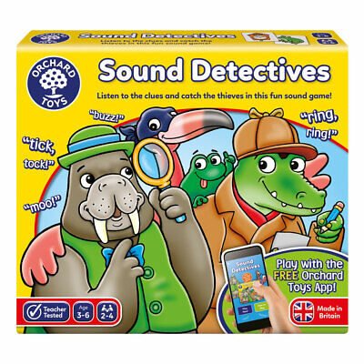 Orchard Toys Sound Detectives • 10.50£