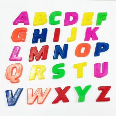Magnetic Letters Childrens Kids Alphabet Magnets In UPPER Case Learning New • 1.85£