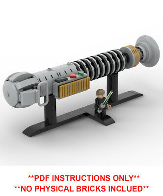 Custom Lego Star Wars Luke Skywalker Lightsaber MOC - PDF INSTRUCTIONS ONLY • 4.75£