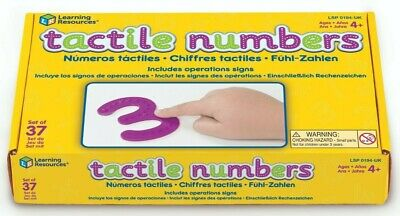 Learning Resources Tactile Numbers & Operations Set • 11.70£