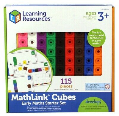 Learning Resources MathLink Cubes Activity Set • 17.97£