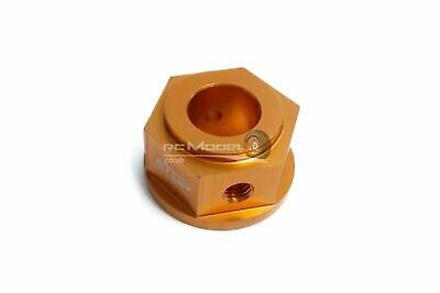 Atop RC Brake Disc Hub 7075 - Orange King Motor HPI Baja 5B • 19.99£