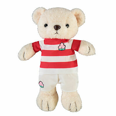 Fanatics Official Unisex Japan Rugby Bear Soft Plush Toy • 18£