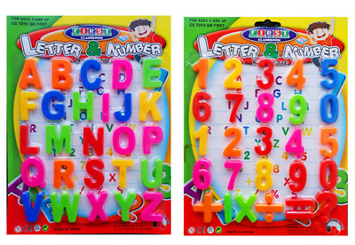 Large Magnetic Letters Alphabet & Numbers Fridge Magnets Toys Kids Learning • 4.39£