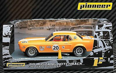 Pioneer Slot Car P065 1968 Ford Mustang Notchback • 42.99£