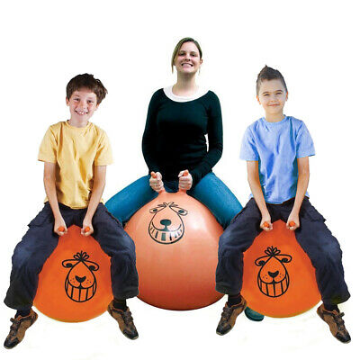 Retro Space Hopperlarge Ball Adult Kids Exercise Toy 60cm / 80cm Play Game • 8.79£