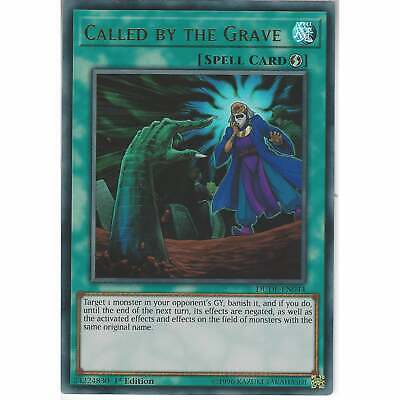 DUDE-EN044 Called By The Grave | 1st Edition | Ultra Rare Card | YuGiOh TCG • 3.95£