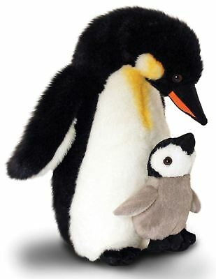 Keel Penguin Mother & Baby Soft Toy 30cm • 17.10£