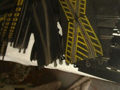 Quantity Scalextric Track Unusual Sections And Half Sized Pieces X 18 • 20£