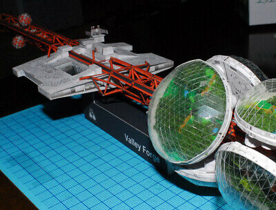 Silent Running Valley Forge DIY Handcraft PAPER MODEL KIT • 19.99£