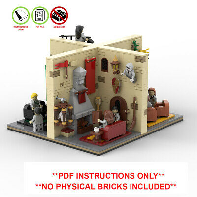 Lego Harry Potter Custom MOC Modular Playset - PDF INSTRUCTIONS ONLY - NO BRICKS • 7.99£