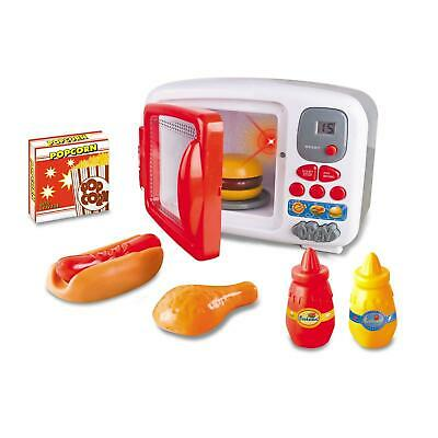 Realistic Play Kitchen Oven Cooking Pretend Play Toy With Lights & Sound • 12.99£