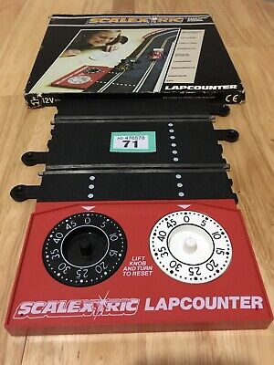 Scalextric Classic Lap Counter C277 Boxed Lot 71 • 10.25£