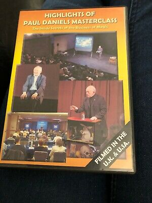 Highlights Of Paul Daniels Masterclass DVD New Sealed • 17£