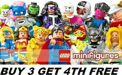 Genuine Lego Minifigures Dc Comics Superheroes 71026 Buy 3 Get 4th Free  • 69.99£