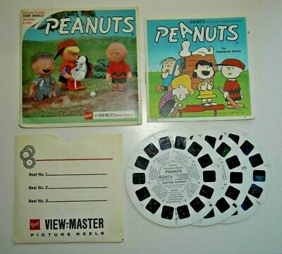 Peanuts Charlie Brown 1966 Viewmaster Reels Set B536 Rare  G073 • 19.95£
