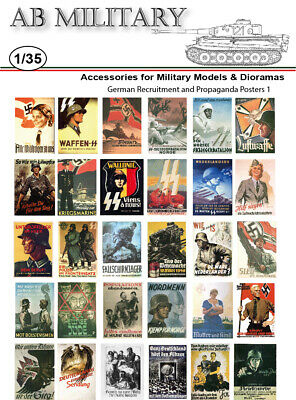 1/35 Scale WWII German Posters 2 • 2.99£