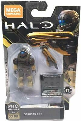 Mega Construx  Halo Series 11 SPARTAN CQC - GLB57 New In Box. • 17.99£