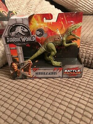 Jurassic World Battle Damage Herrerasaurus Figure • 32£