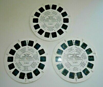 Family Ness 1984 Viewmaster Reels Set D245 123 Rare    G193 • 24.95£
