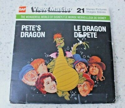 Pete's Dragon Viewmaster Reels Set H38 1977 Rare  X230 • 16.95£