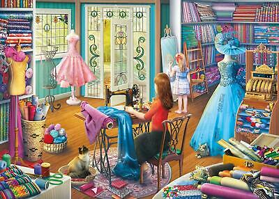 Gibsons The Dressmaker's Daughter Jigsaw Puzzle  (500 XL Extra Large Pieces) • 15.74£
