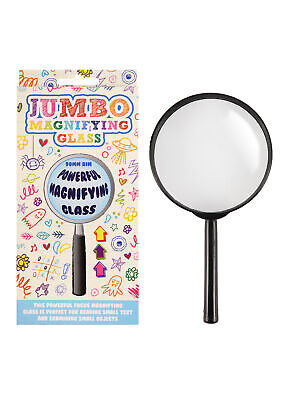 Jumbo Magnifying Glass - Traditional School Kids Science Nature Educational Toy • 2.19£