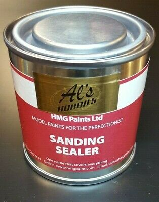 Clear Sanding Sealer For All RC And Model Making Projects (ALS-5945) - (125 Ml) • 9.85£