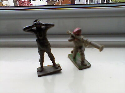 Crescent US Marines - British 8th - Japanese Vintage Soldiers 54 Mm And 60mm  • 6.90£
