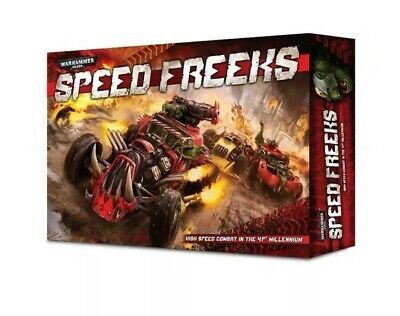 Warhammer 40000 SPEED FREEKS - BNIB OOP • 195£