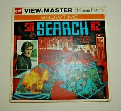 Search Viewmaster Reels 1973 Original Set B591 Rare Complete   G047 • 22.95£