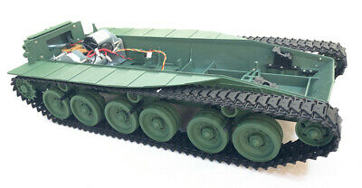 Haya Radio Remote Control RC Tank Chieftain 1/16 Chassis With Smoke Unit UK • 99.99£
