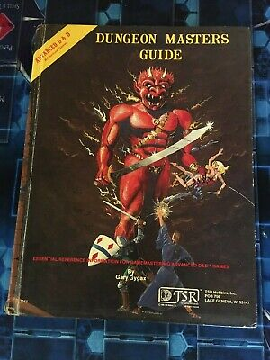 AD&D Dungeon Master's Guide - Revised Ed -TSR 1979 - Advanced Dungeons & Dragons • 40£