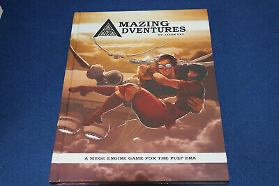 AMAZING ADVENTURES By Jason Vey  A Siege Engine Game For The Pulp Era • 26.99£