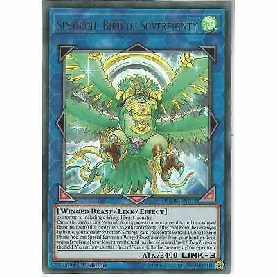 DUOV-EN012 Simorgh, Bird Of Sovereignty | 1st Edition Ultra Rare Card YuGiOh TCG • 0.99£