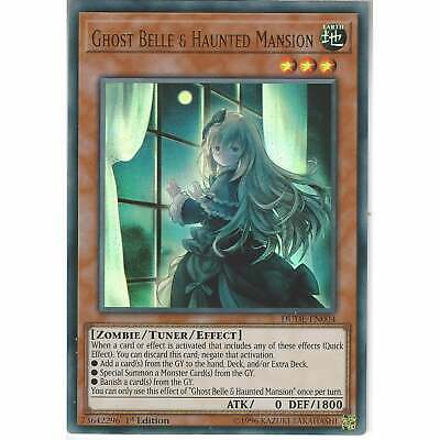 DUDE-EN004 Ghost Belle & Haunted Mansion | 1st Edition | Ultra Rare | YuGiOh TCG • 2.45£