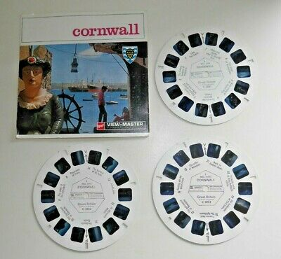 Cornwall 1969 Viewmaster Reels Set C285 Rare   G607 • 19.95£
