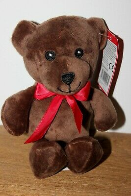 Teddy Bear With Ribbon Soft Toy -  For Charity • 1£