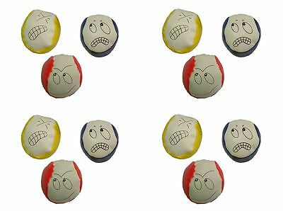 9 Juggling Balls Learn To Juggle Three Sets Circus Toys Games UK Seller • 5.09£