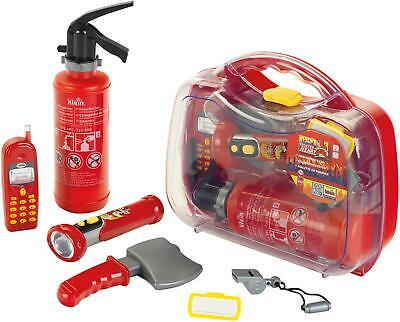 Klein FIREFIGHTER CASE Kids Children Pretend Play Toy BNIP • 26.95£