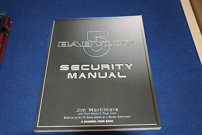 Babylon 5 Security Manual Paperback FIRST EDITION  JIM MORTIMORE  • 18.99£