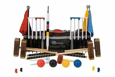 Uber Championship 6 Player Croquet Set With A Bag • 449.90£