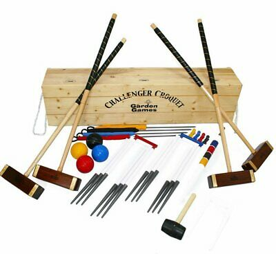Garden Games Challenger Croquet Set In Box • 419.90£