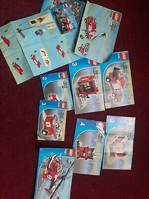 Lego City Instruction Booklets  • 3£