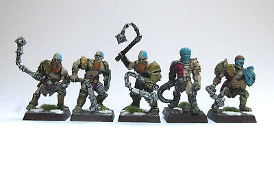 Warhammer GW Mordheim Painted Pitfighter Warband Metal • 49.99£