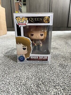 Roger Taylor (Queen) Funko Pop #94 - With Protector • 55£