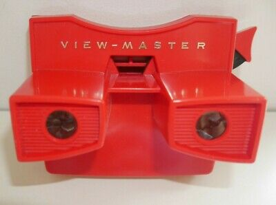 VINTAGE VIEWMASTER MODEL G STEREO VIEWER RED 1970's RARE  G816 • 24.95£