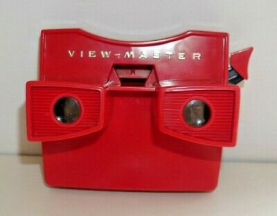 VINTAGE VIEWMASTER MODEL G STEREO VIEWER RED 1970's RARE  G817 • 24.95£