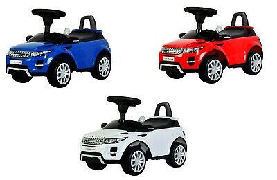 Official Range Rover Evoque Sport Foot To Floor Push Along Ride On Car SUV • 39.99£