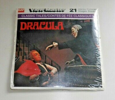 * Sealed Mint * Dracula 1976 Viewmaster Reels B324 Rare Horror   G849 • 34.95£